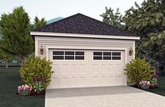 Garage Plan 51400 Elevation