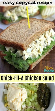 Chick-Fil-a Chicken Salad Recipe: Make Your Own Copycat Sandwiches! Chick-Fil-a Chicken Salad Recipe: Make Your Own Copycat Sandwiches! Chick Fil A Chicken Salad Recipe copycat<br> Chick Fil A Chicken Salad Recipe, Chicken Salad Recipes, Healthy Salad Recipes, Homemade Chicken Salad Recipe Easy, Chicken Egg Salad, Best Egg Salad Recipe, Rotisserie Chicken Salad, Chicken Salad Recipe With Eggs And Pickles, Chicken Salad Chick Classic Carol Recipe