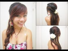 Facebook: http://Facebook.com/x3Thuha   Tumblr: http://x3Haha.Tumblr.com  Formspring: http://Formspring.me/x3Haha (Currently active again)    Hello everyone!(:  Here's another lovely versatile hairstyle that can be worn for a school dance or a school day. If you just want to try the twists alone, it should only take you about 2 minutes. If you'r...