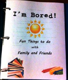 A book of fun things for a kid to do when bored over the summer (or year round).  I mentor a 3rd grader and thought this would be a good end of year gift for her.