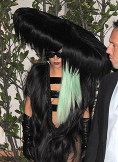 Crazy.. Oops I mean CRAZY hair! Lady Gaga never fails to amaze!