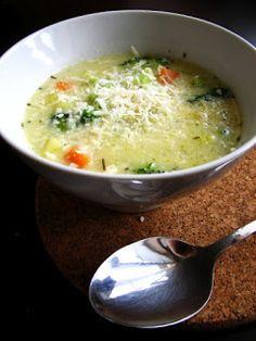 frommarysity: Zeleninová polievka s parmezánom