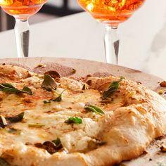 Chef Gabe Bertaccini's Pizza Del Nord Recipe Italian Dishes, Italian Recipes, Taleggio Cheese, Pizza Ball, Raw Pistachios, Pizza Food, Flatbread Pizza, Calzone, Pizza Dough