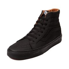 vans sk8 hi platform black high top trainers men