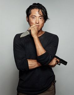 """ Steven Yeun as Glenn Rhee photographed by Dylan Coulter for Entertainment Weekly 2014 "" Already miss you!"
