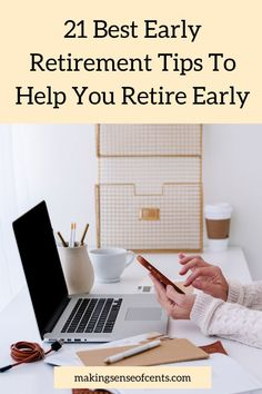 Are you interested in financial independence and/or early retirement? Here are 21 of the best early retirement tips form personal finance experts. Money Change, Debt Free Living, Passive Income Streams, Earn More Money, Managing Your Money, Early Retirement, Starting Your Own Business, Work From Home Jobs, Get Over It