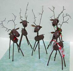 cork crafts | Crack of Dawn Crafts: Reindeer Cork Craft