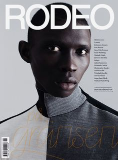 rodeo Magazine cover issue 2012 | Magazine Cover: Graphic Design, Typography, Photography |