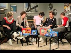 1D VIP (One Direction for Nabisco) - Bloopers