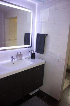 Ikea led bathroom lighting bathroom pinterest ikea bathroom beautiful bathroom remodel aloadofball Gallery
