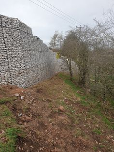 A selection of gabion projects using Weld Mesh supplies. Gabion walls and basket features. Gabion Retaining Wall, Garden Pictures, Baskets On Wall, Wall Ideas, Landscaping, Country Roads, Walls, Top, Modern House Exteriors