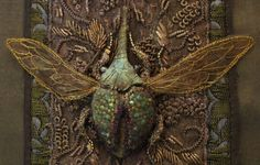 goldwork beetles how to make - Google Search