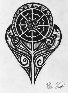 Polynesian Symbols Meanings | Polynesian Strength Tattoo by PatrickSchappe-Art
