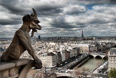 Gargoyles in paris !
