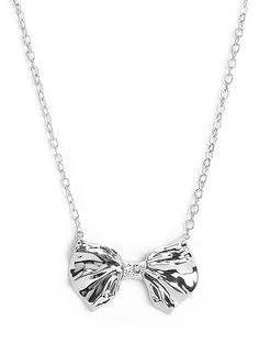 Industrial Bow Necklace
