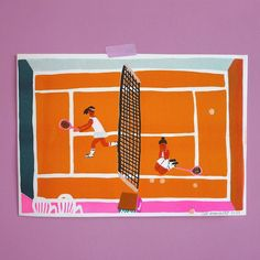 MATCHPOINT A new risoprint is out! 4 colors / A4 size / edition of 50 #risograph