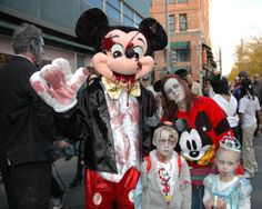 disney princess families   Walt Disney World Zombie Family   Costume Pop