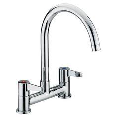 Bristan - Design Utility Lever Deck Kitchen Sink Mixer £80