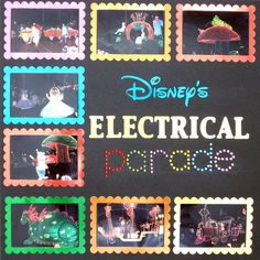 Disney's Electrical Parade by Mortola @Two Peas in a Bucket