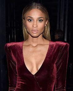 Ciara Billboard Music Awards 2016: straight hair middle part | allure.com