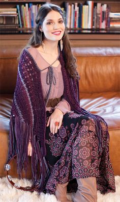 Stevie Shawl | crochet today  - words cannot explain how much I need this.