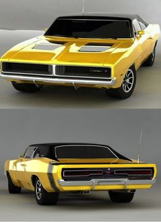 Old Muscle Cars, Dodge Muscle Cars, 1969 Dodge Charger, American Classic Cars, Old School Cars, Hot Rides, Us Cars, Car Tuning, Collector Cars