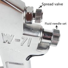 Amazon.com: Professional Gravity Feed Air Spray Gun Nozzle 1.0MM with 400ml Stainless steel Cup: Automotive