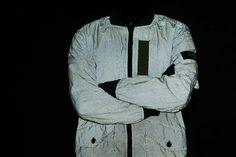 Stone Island Garment Dyed Pixel Reflection Long Bomber Jacket | #StoneIsland #GarmentDyed #Reflective #HAVENSHOP