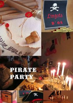 Winter Pirate Party Birthday Party Ideas | Photo 2 of 24