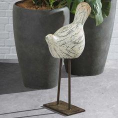 Whimsical Bird Statue