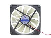 Free Shipping Best  silent quiet 140mm pc case cooling  fans 14cm DC 12V 4D plug computer coolers
