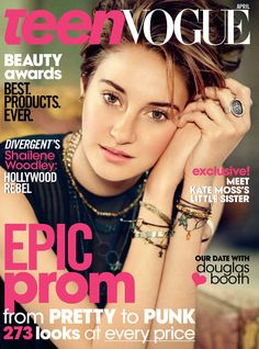 Shailene Woodley - Teen Vogue - April 2014