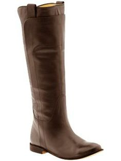 My aspirational boots... one day, I shall have you, boots!  Perfect for fall with skinny jeans...    Frye Paige Tall Riding | Piperlime