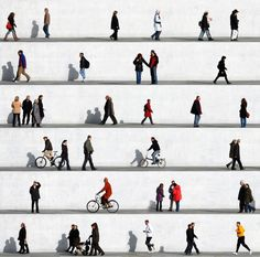 "Saatchi Online Artist: Eka Sharashidze; C-type 2013 Photography ""wall people detail no.2 (limited Edition 3/6)"""