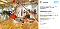 Instagram Veronica Blume practica Aero Yoga en el AERO YOGA INSTITUTE MADRID #AEROYOGA #AEROPILATES #WELOVEFLYING #yoga #body #acro #fly #tendencias #belleza #moda #ejercicio #exercice #trending #fashion #teachertraining #wellness #bienestar #aeroyogastudio #aeroyogaoficial #aeroyogachile #aeropilatesmadrid #aeropilatesbrasil #aeropilatescursos