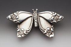 Butterfly Brooch Pin
