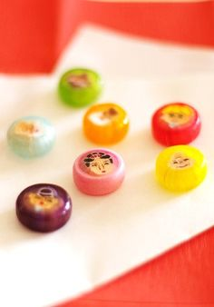 "japanese candy /  七福神 ""The Seven Deities of Good Fortune"""