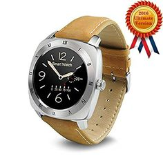 Bluetooth Smart Watch Bracelet Wrist Phone, Waterproof Sport Running Fitness, with Heart Rate Monitor Multi-Function Wireless WristWatch for iPhone IOS Android amsung Edge Htc, Smartphones (Silver)  http://stylexotic.com/bluetooth-smart-watch-bracelet-wrist-phone-waterproof-sport-running-fitness-with-heart-rate-monitor-multi-function-wireless-wristwatch-for-iphone-ios-android-amsung-edge-htc-smartphones-silver/
