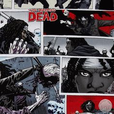 Walking Dead fans, rejoice. We have 3 new prints for your enjoyment, including this one featuring Michonne!
