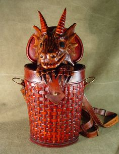 Bob Basset's Lair Leather dragon special order