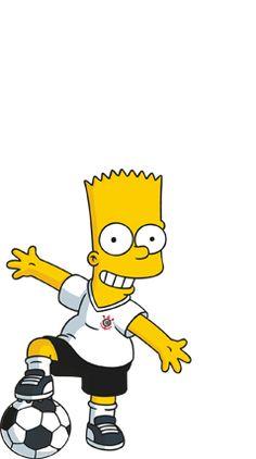 Bart Simpson, Simpsons Characters, Fictional Characters, Corinthian Fc, Ralph Wiggum, Simpson Wallpaper Iphone, Team Logo Design, Football Wallpaper, Cartoon Shows