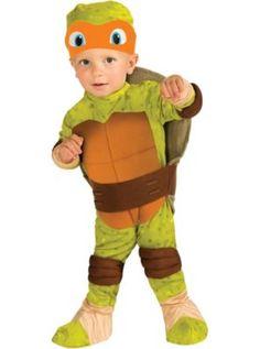 Toddler Boys Michelangelo Costume - Teenage Mutant Ninja Turtles