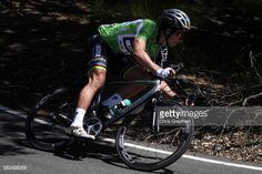 Peter Sagan of Slovakia riding for Borahansgrohe rides in the peloton during stage two of the AMGEN Tour of California from Modesto to San Jose on...