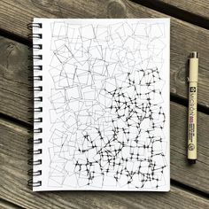 New pattern in progress 🤓 #drawing #teckning #pattern #mönster #inkdrawing #tuschteckning #zendoodle #zendrawing #pendrawing #tangle #wip #sketchbook #zentangle #zentangleart #pigmamicron #sakurapigma