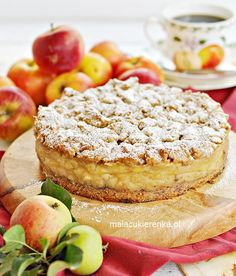 Cake Recipes, Snack Recipes, Dessert Recipes, Cooking Recipes, Snacks, Polish Recipes, Polish Food, Raspberry Cheesecake, Cookie Desserts