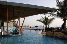 The pool at the iconic Burj Al Arab in Dubai