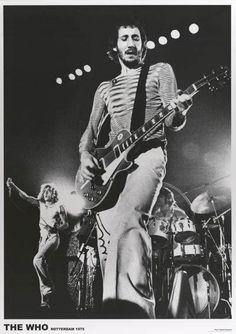 The Who Rotterdam 1975 Rare Poster