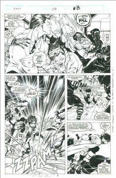 Uncanny X-Men 258, Pg08   Jim Lee