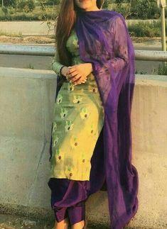 Best Trendy Outfits Part 12 Punjabi Suits Designer Boutique, Boutique Suits, Indian Designer Suits, Indian Suits, Indian Dresses, Patiala Suit Designs, Patiala Salwar Suits, Embroidery Suits Punjabi, Embroidery Suits Design