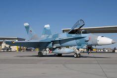 Navy F/A-18 Hornet Aggressor Aircraft